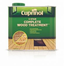 Cuprinol 5 Star Complete Wood Treatment - 2.5L